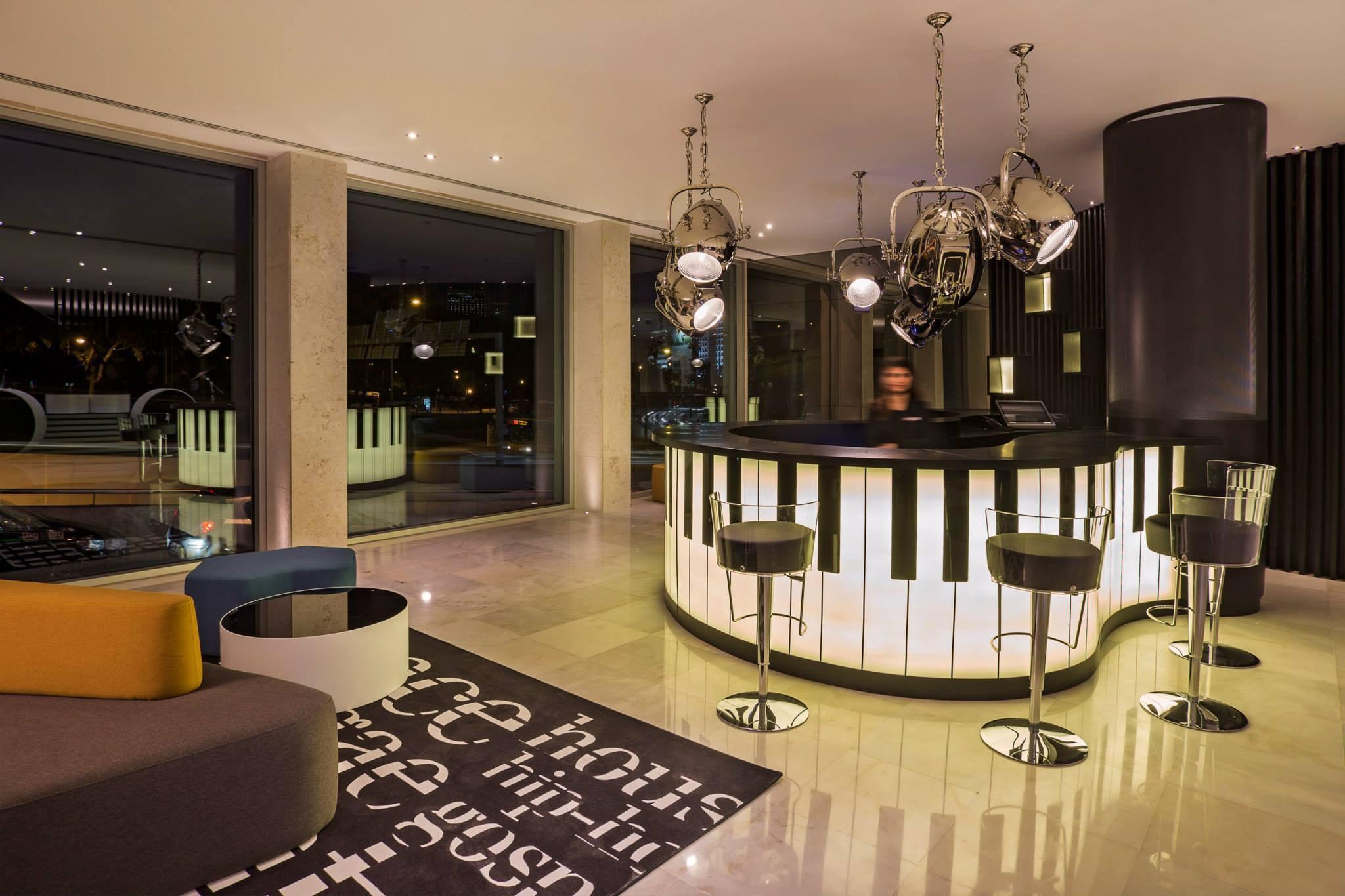 Fénix Music Hotel, Lisboa – Atelier Oscar Santos